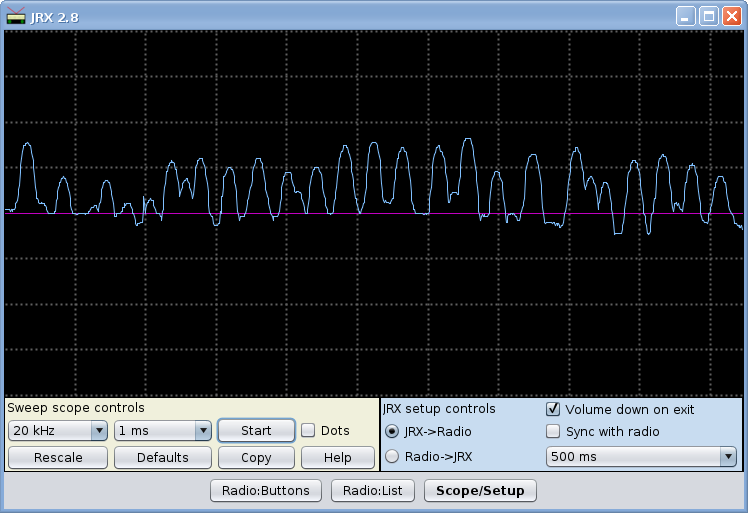 JRX: Virtual Ham Radio