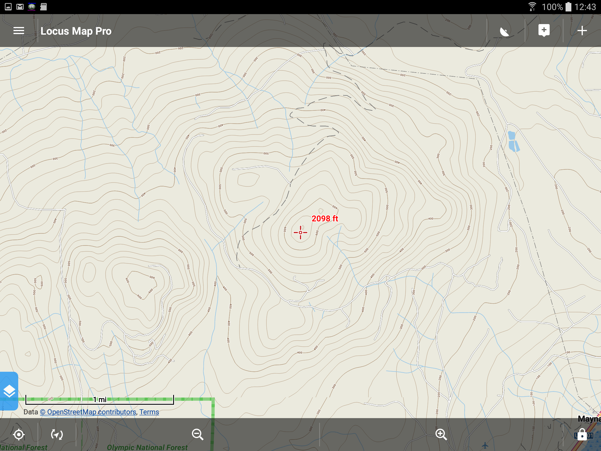 Android Topographic Map App.Android Offline Topographic Map